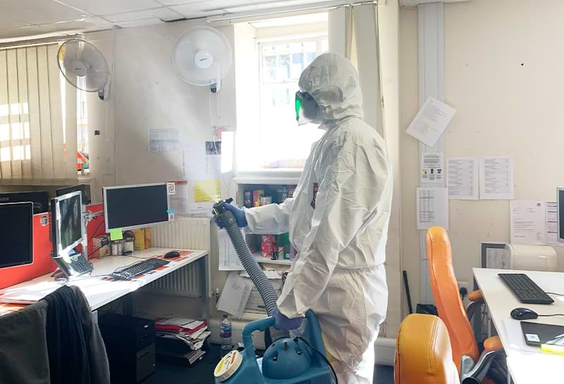 interior deep cleaning services offices